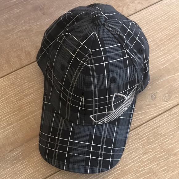 69de42474 Adidas Unisex Plaid Baseball Cap Hat